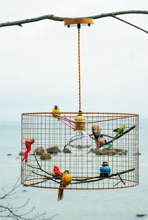Birdcage Pendant Light Chandelier