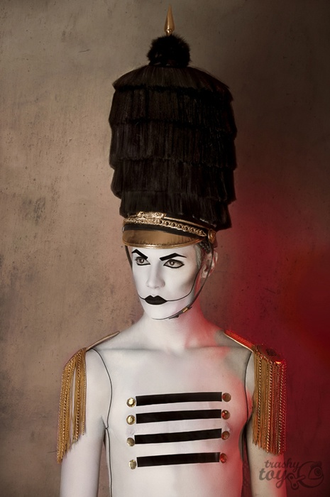 Ringmaster Male Makeup Ideas