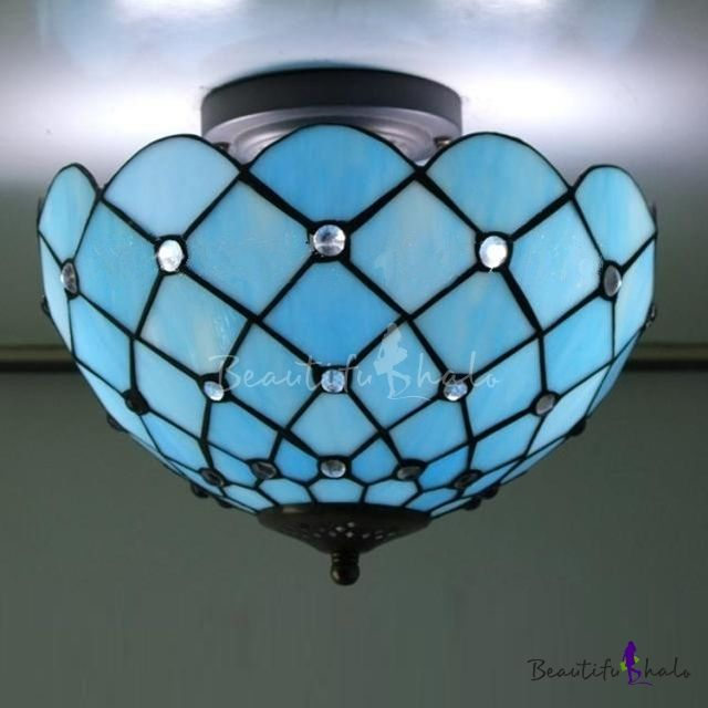 Round Fabric Shade Pendant Light