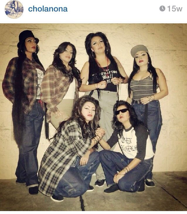 Pachuco Style For Girls