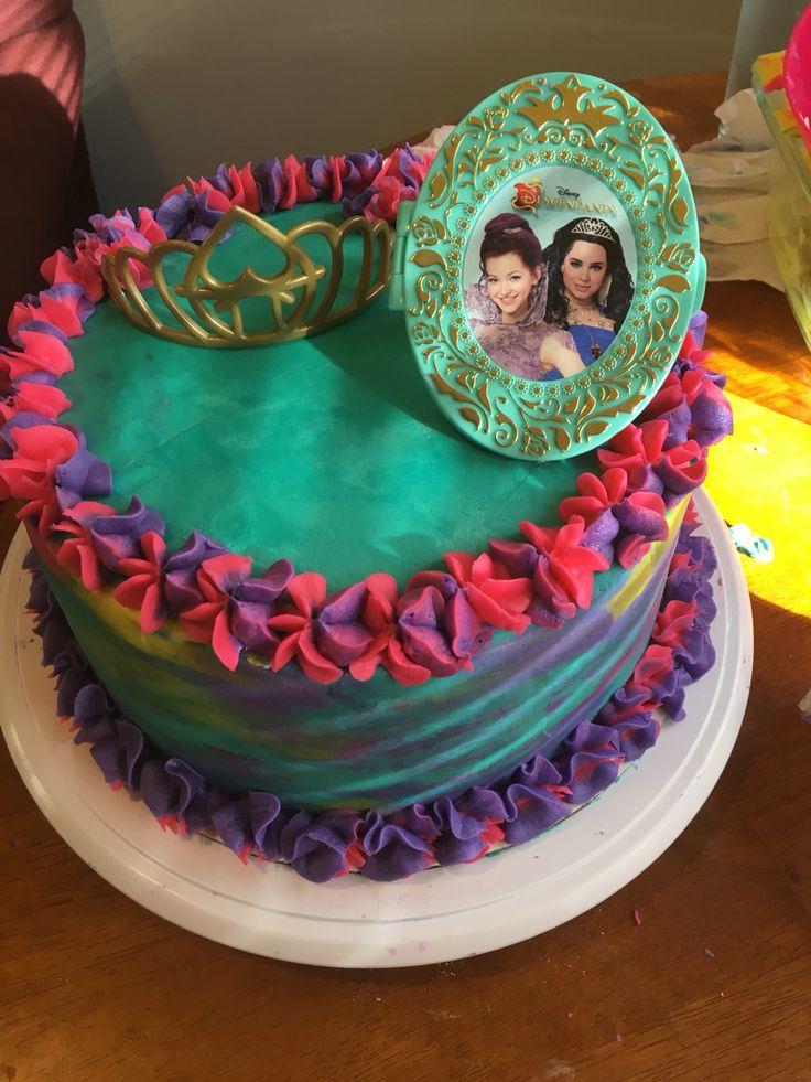 Descendant Cake Topper Publix