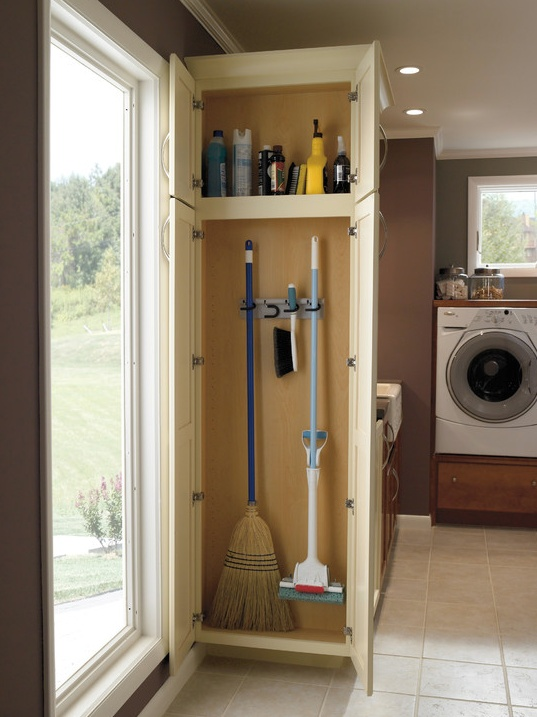 Broom Closet Organization Ideas