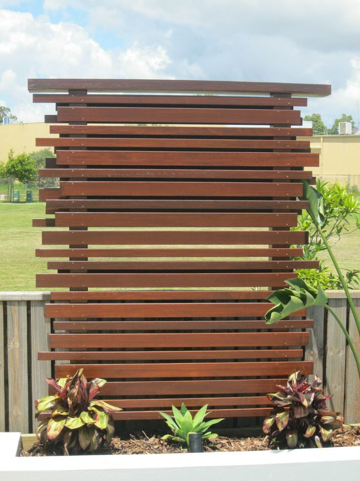 Outdoor Privacy Screen Panels Wooden Privacy Screen