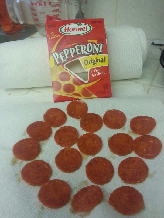 Pepperoni Hormel Snack Pack