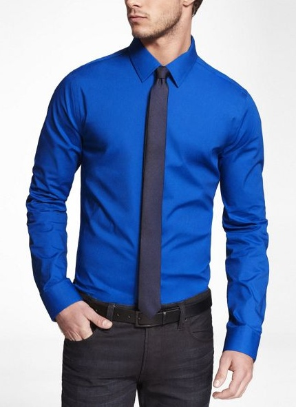 Blue Shirts Ties Matching And