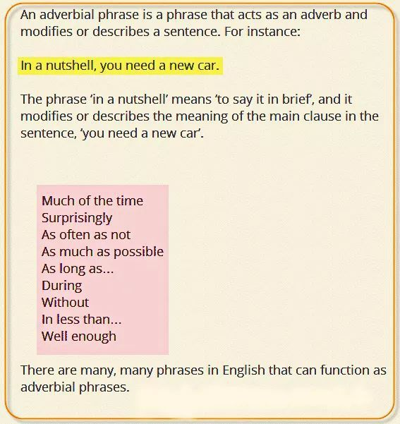 Absolute Phrase Examples