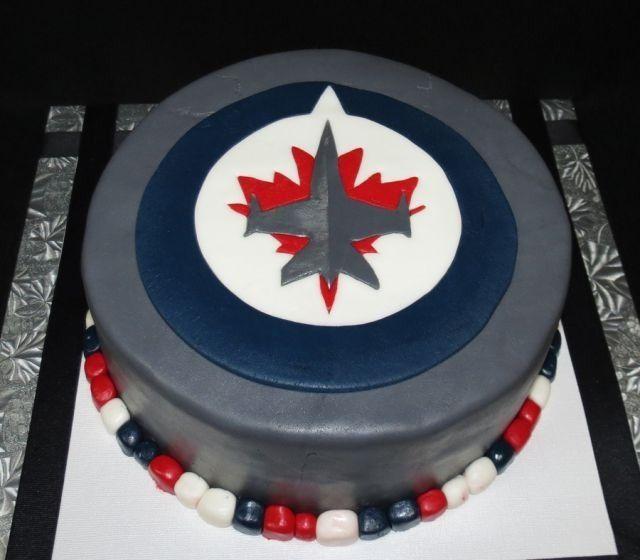 Winnipeg Jets Cake Food And Goodies Pinterest Jets