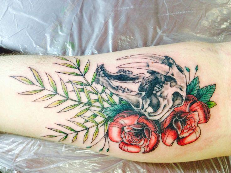 Sabertooth Tiger Tattoo