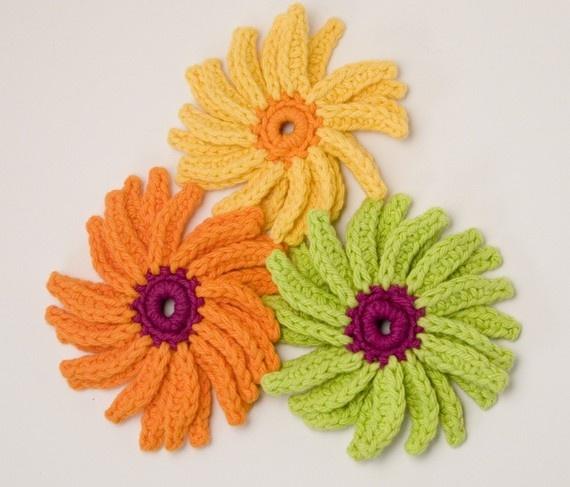 Gerber Daisy Crochet Pattern