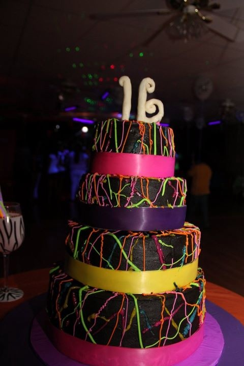 141 Best Images About Glow In The Dark Birthday Party On