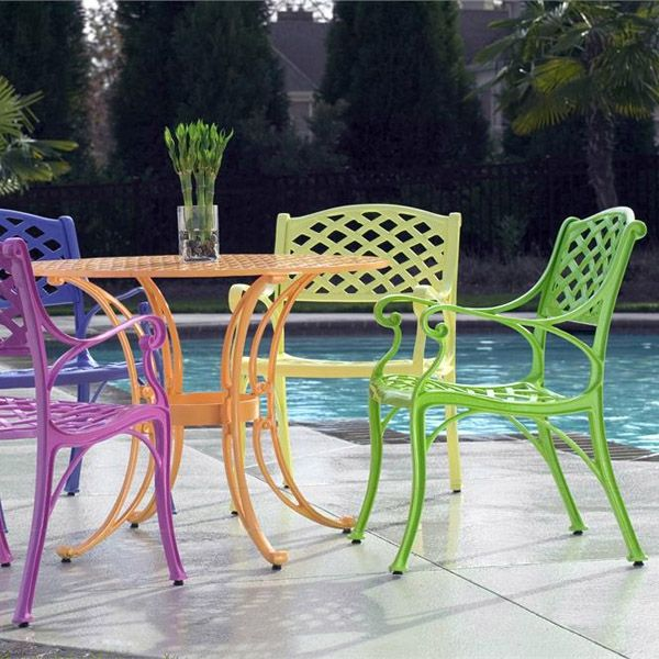 Wrought Outdoor Iron Furniture