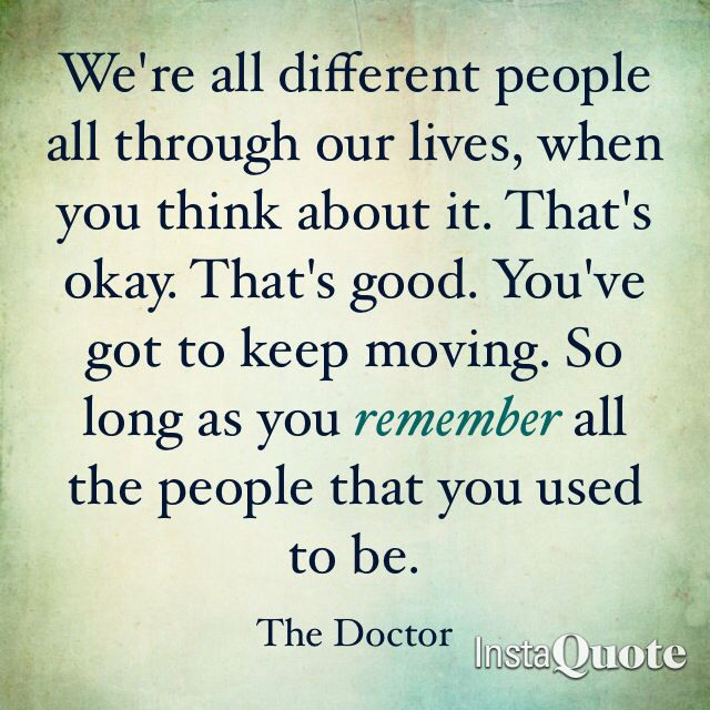 Thought provoking quote from Matt Smith's Doctor Who ...