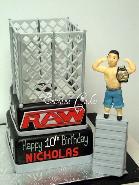 1000 Images About John Cena Cakes On Pinterest