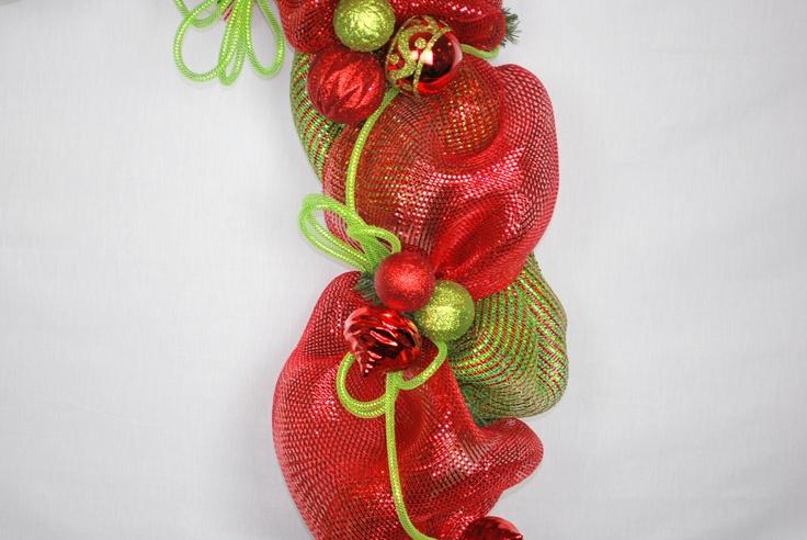 Gold Wreaths Burgundy And Black Christmas