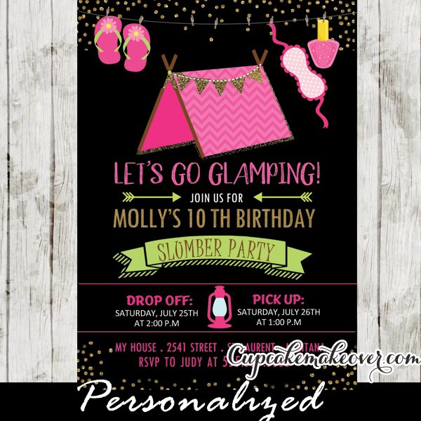 Birthday Party Invitations 9 Year Olds