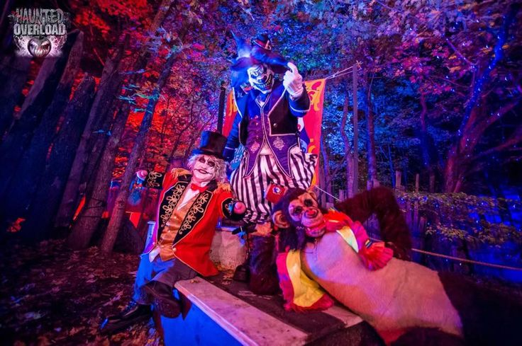 Haunted Overload Clowns