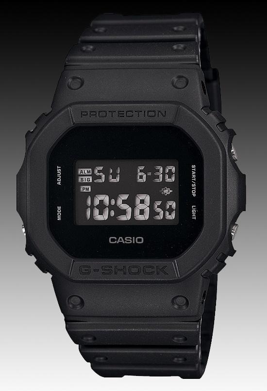 Casio G Shock Blackout