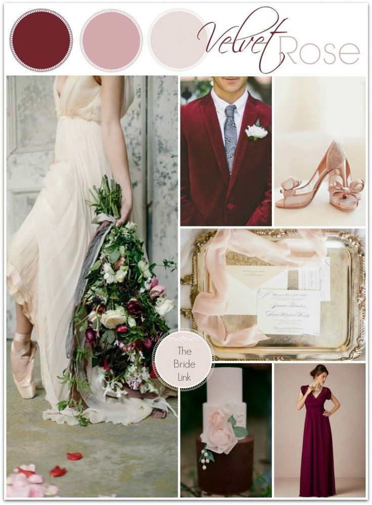 February Wedding Colors