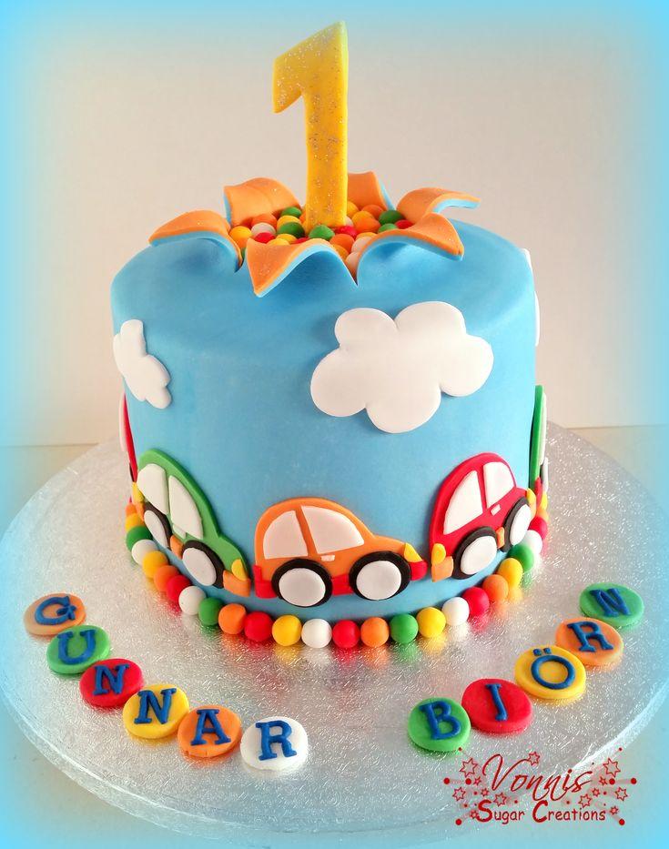 Cars 2 Year Old Birthday Cakes Boys