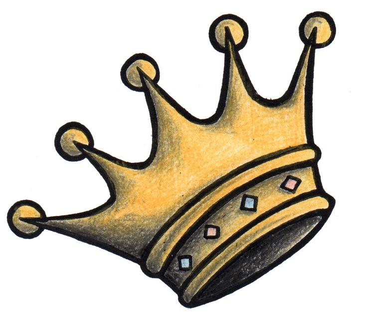 Five Point Crown Drawings