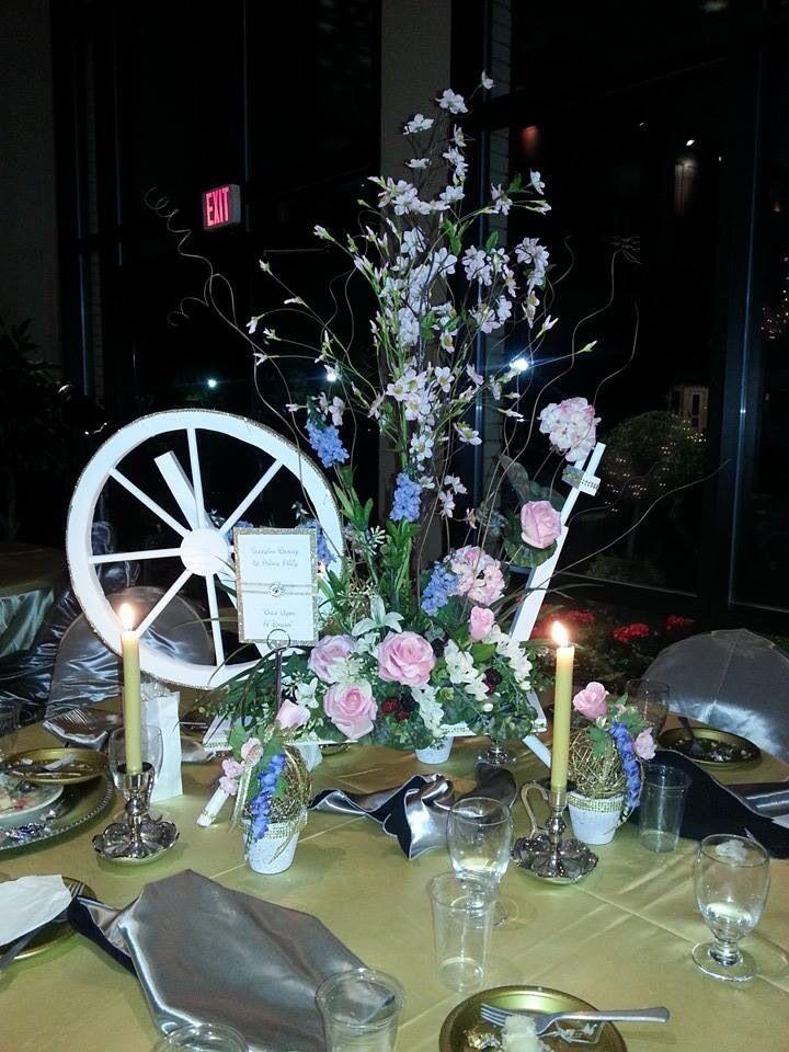 Snow Themed Wedding Decorations