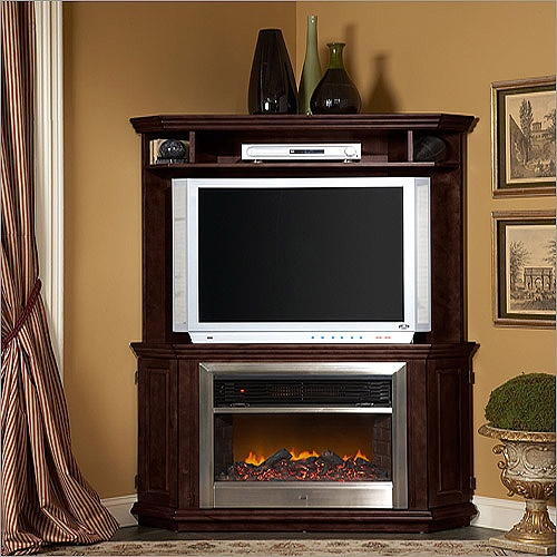 Arrangement Corner Ideas Living Fireplace Room