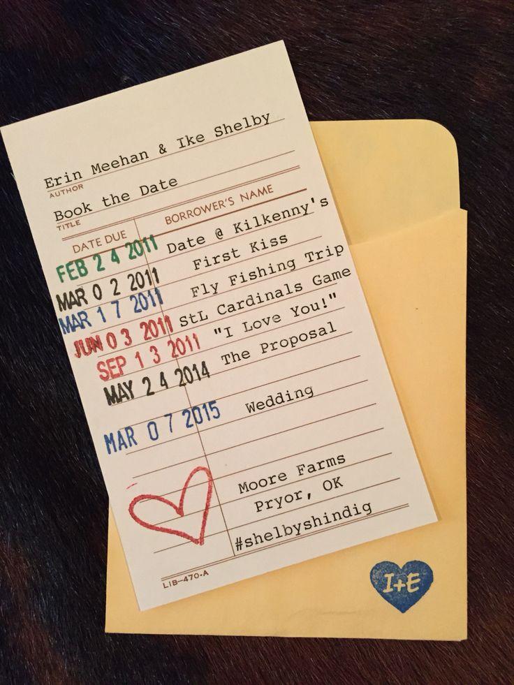 Save Date Cards Vintage