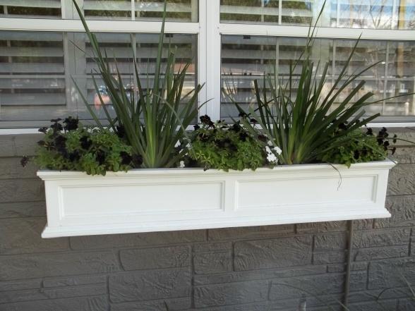 Mediterranean Window Sill Planter Boxs