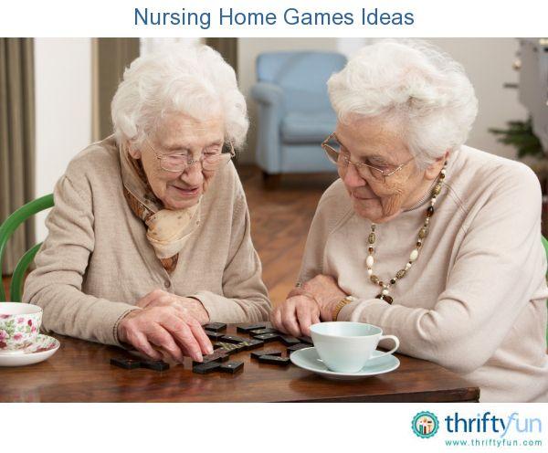 Game Ideas Nursing Home Residents
