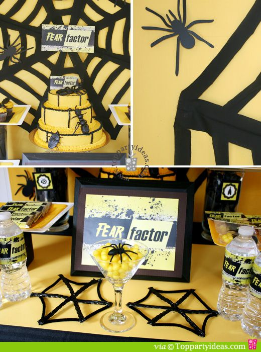 Fear Factor Party Ideas And Printables Free Printables