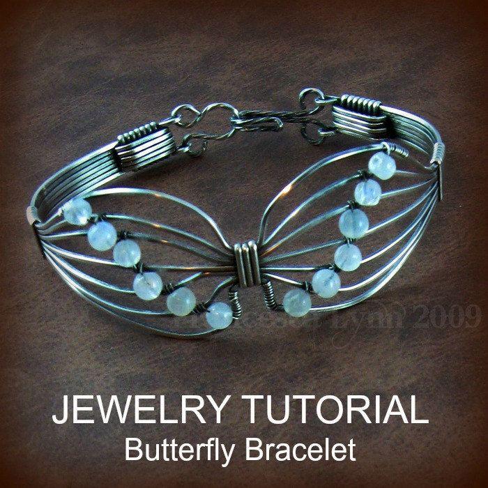 Wire Jewelry Butterfly Patterns Wrap