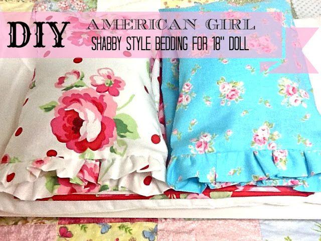 Ribbonwood Cottage Diy Shabby Style Bedding For American