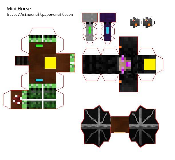 Minecraft Creeper Foldable
