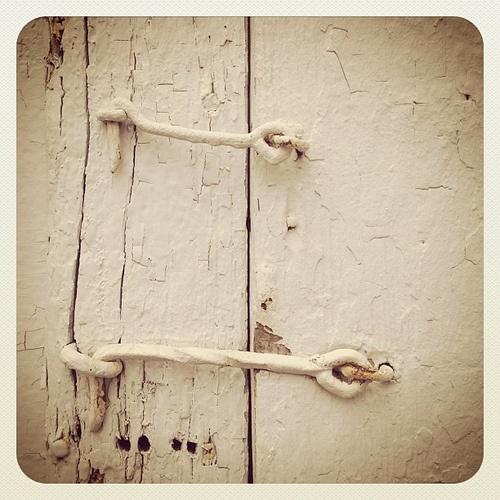 Fashion Key Locks Old Doors
