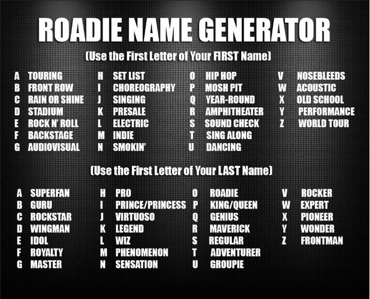 Guys Generator Cool Nicknames