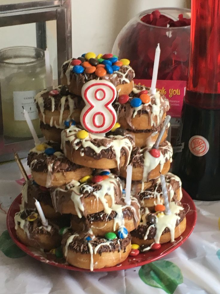 When Your Kid Wants A Chocolate Donut Tower Instead Of A