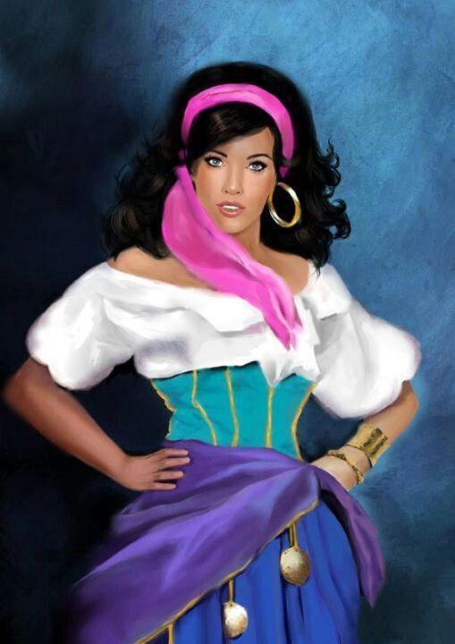 Disney Pin Esmeralda
