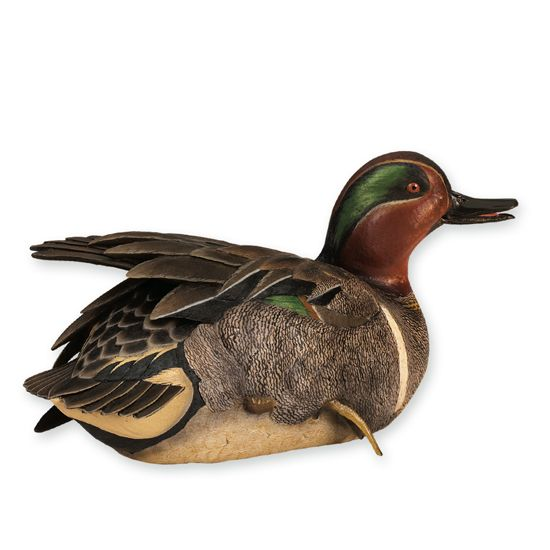 Hand Made Antique Duck Decoys Wood