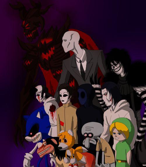 Jeff And Eyeless Killer Creepypasta Family Jack