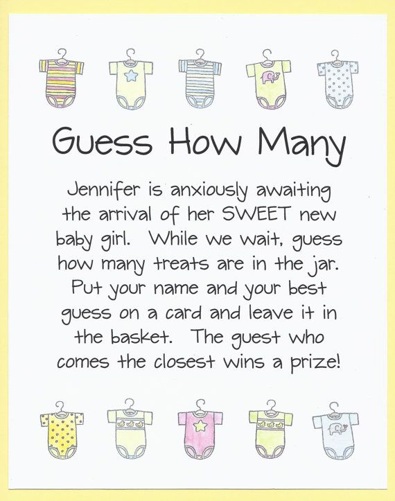 Quick Easy Baby Shower Games
