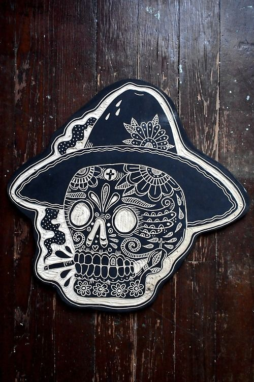 Woodcuts Antique Mexican