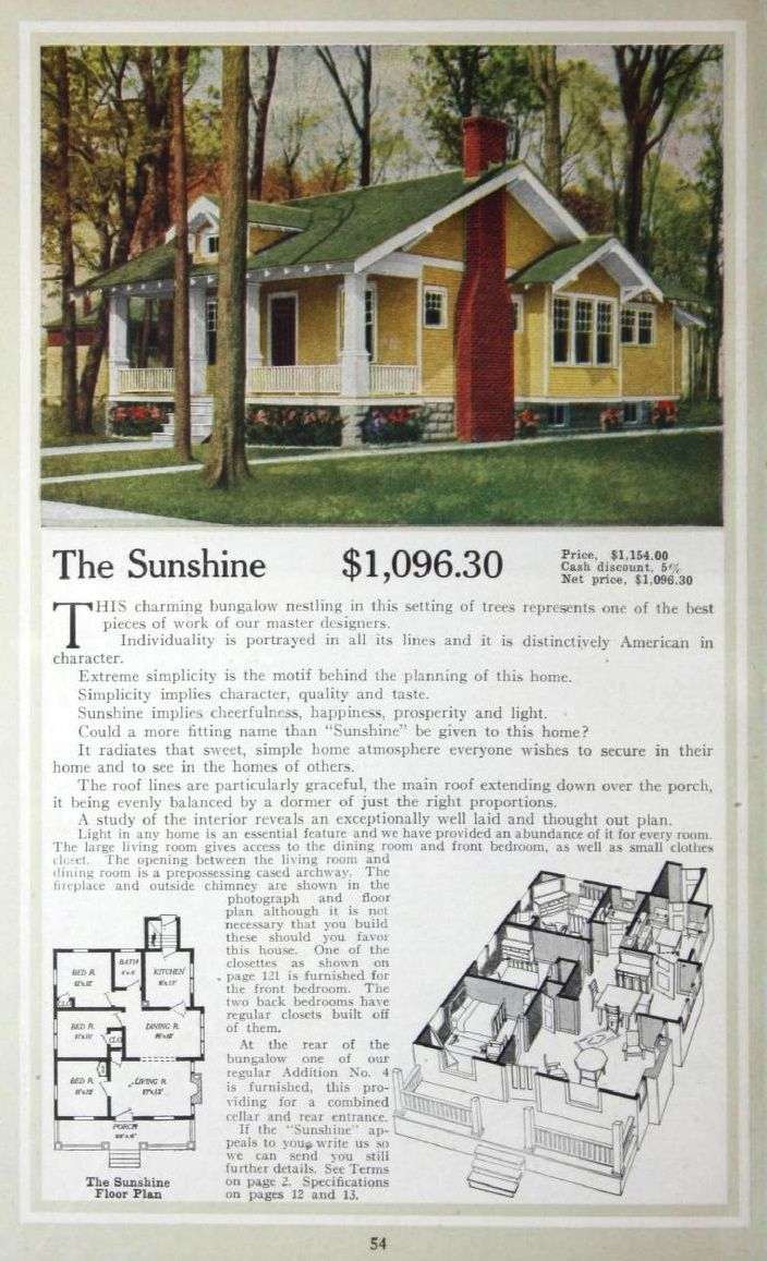 Small House Blueprints Plans