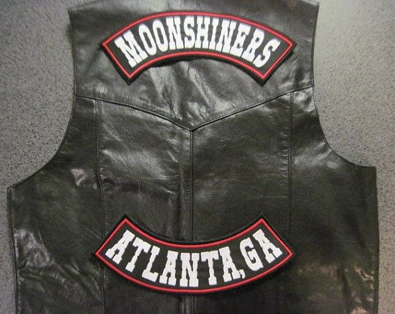 Clubs Pictures Patches Motorcycle Vests Back