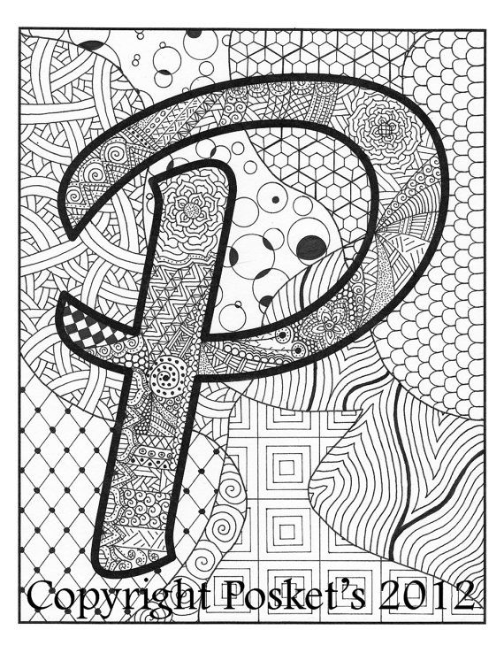 78 Best Images About Zentangle On Pinterest Letter W