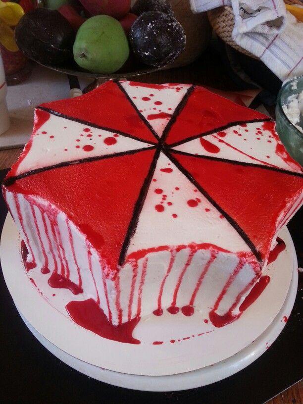 Umbrella Corp Cake My Creations Pinterest Umbrellas