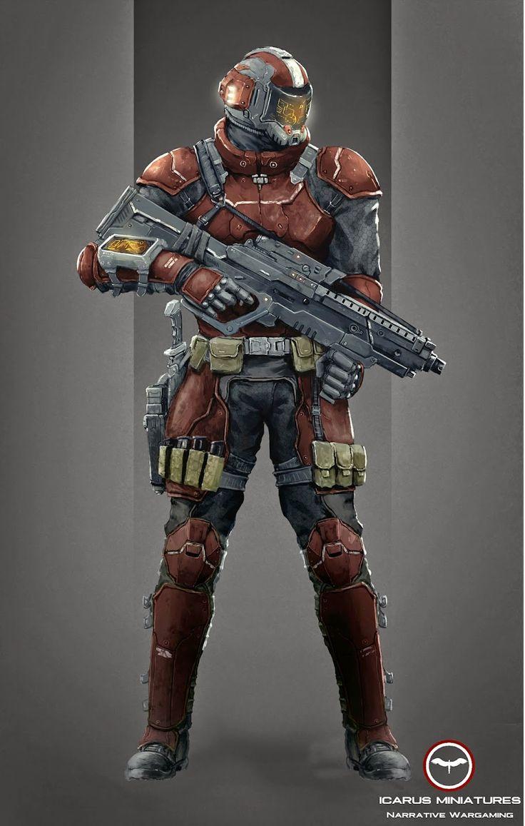 Armor Sci Fi Battle Helmets