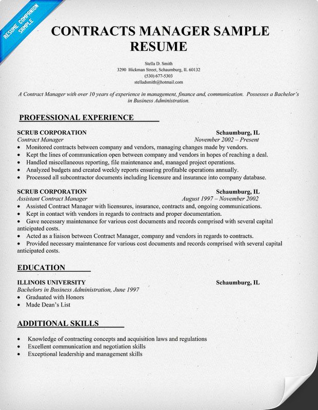 Insurance Industry Resume Examples