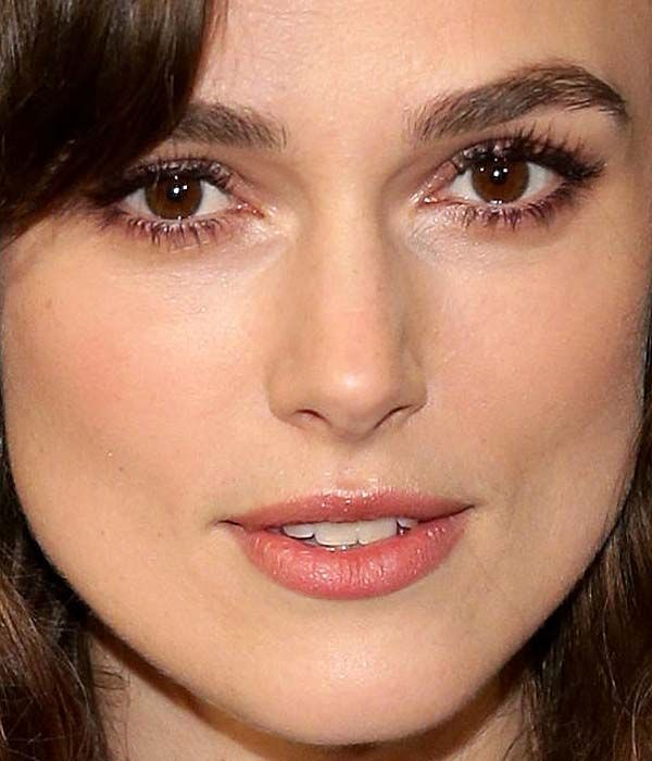 Keira Knightley Neutral Brown Hair