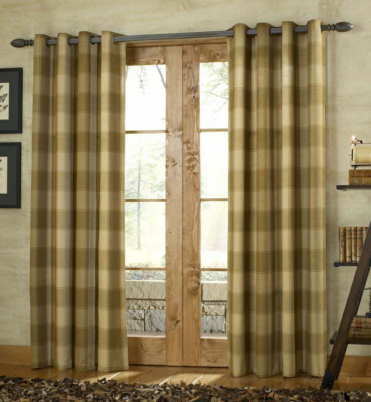 Shower Curtains Primitive Plaid