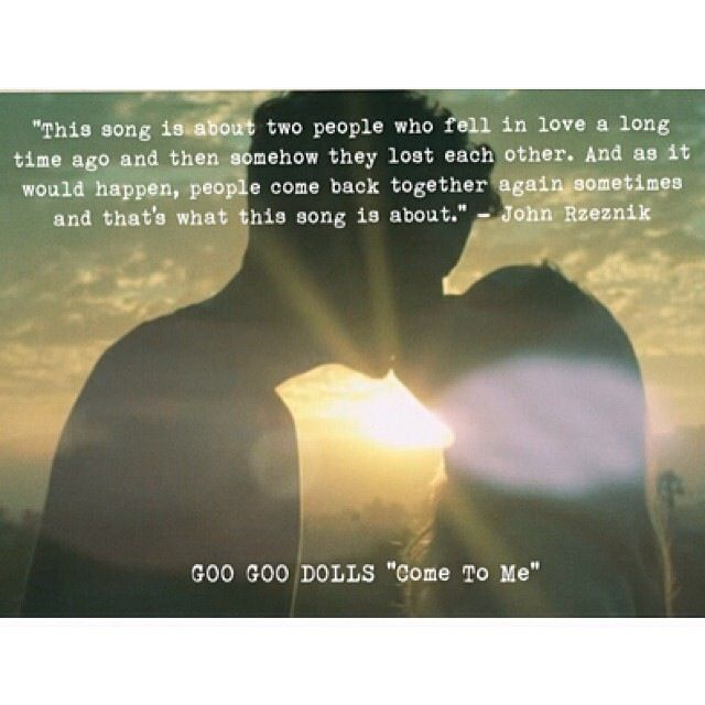 Goo Goo Dolls Love Quotes